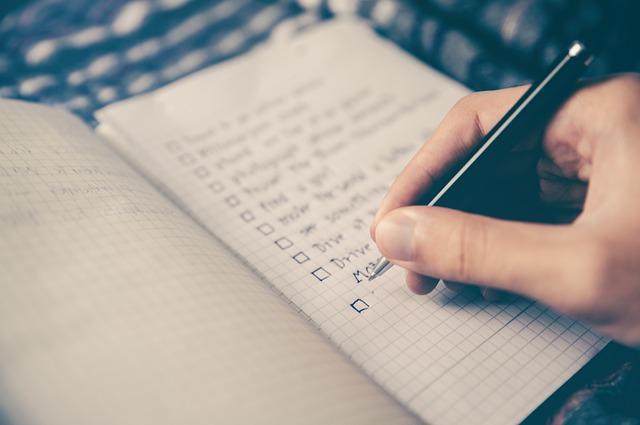 Partnersuche Checkliste