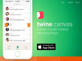 Aplikacija twine Networking for