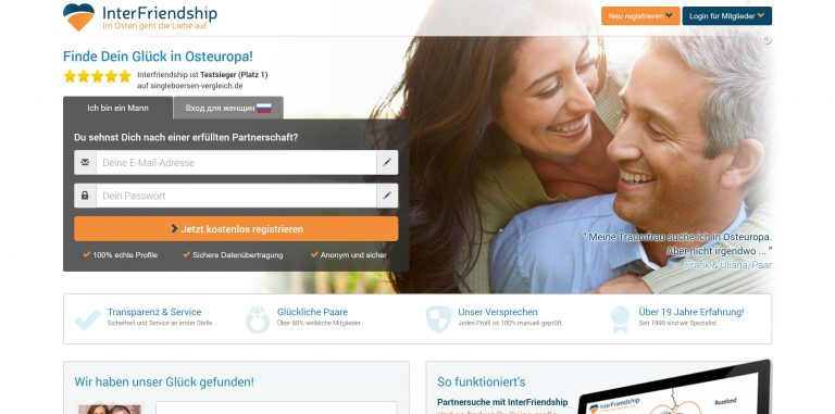 Vergleich partnervermittlung internet