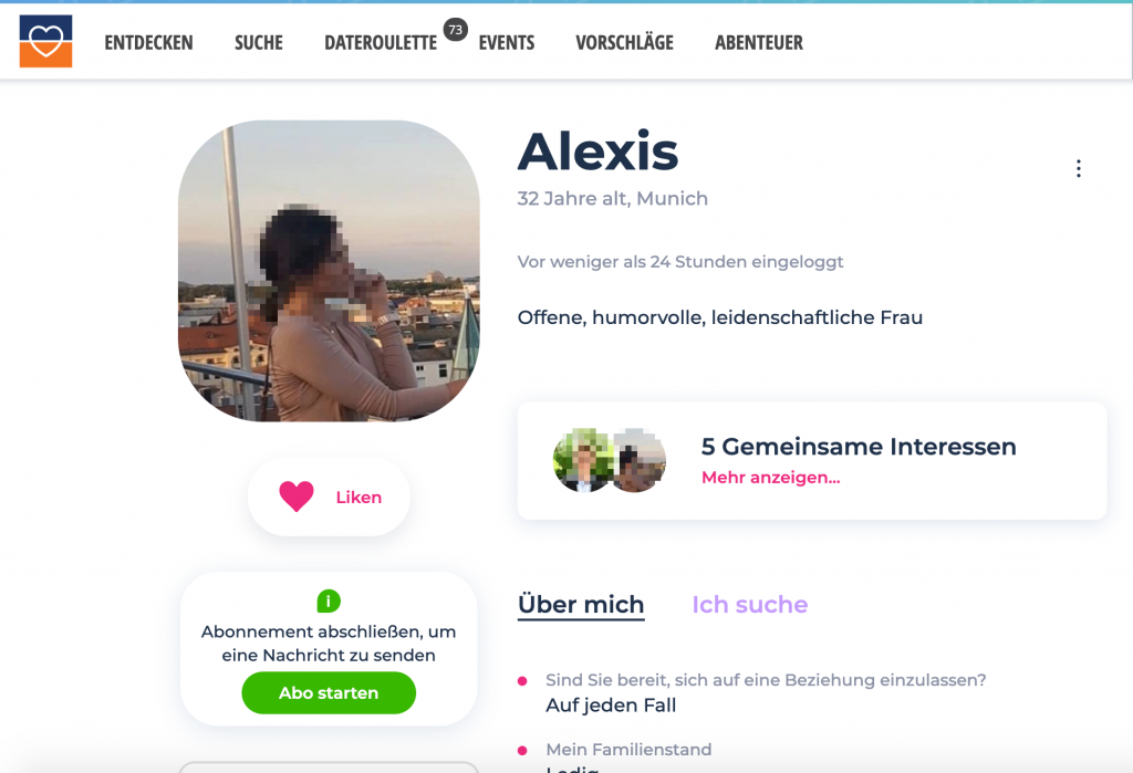 Lovescout Connect