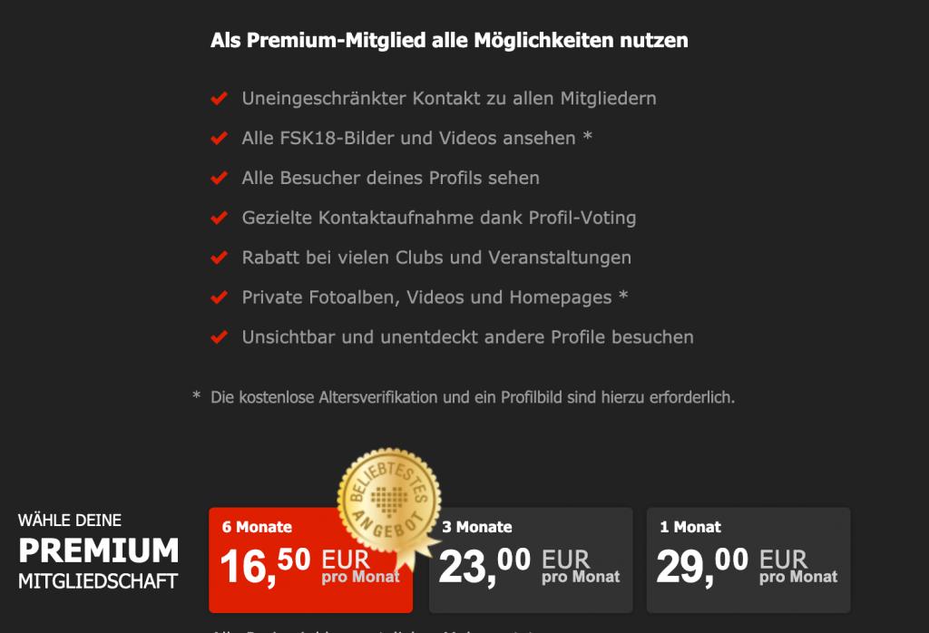 Joyclub Premium