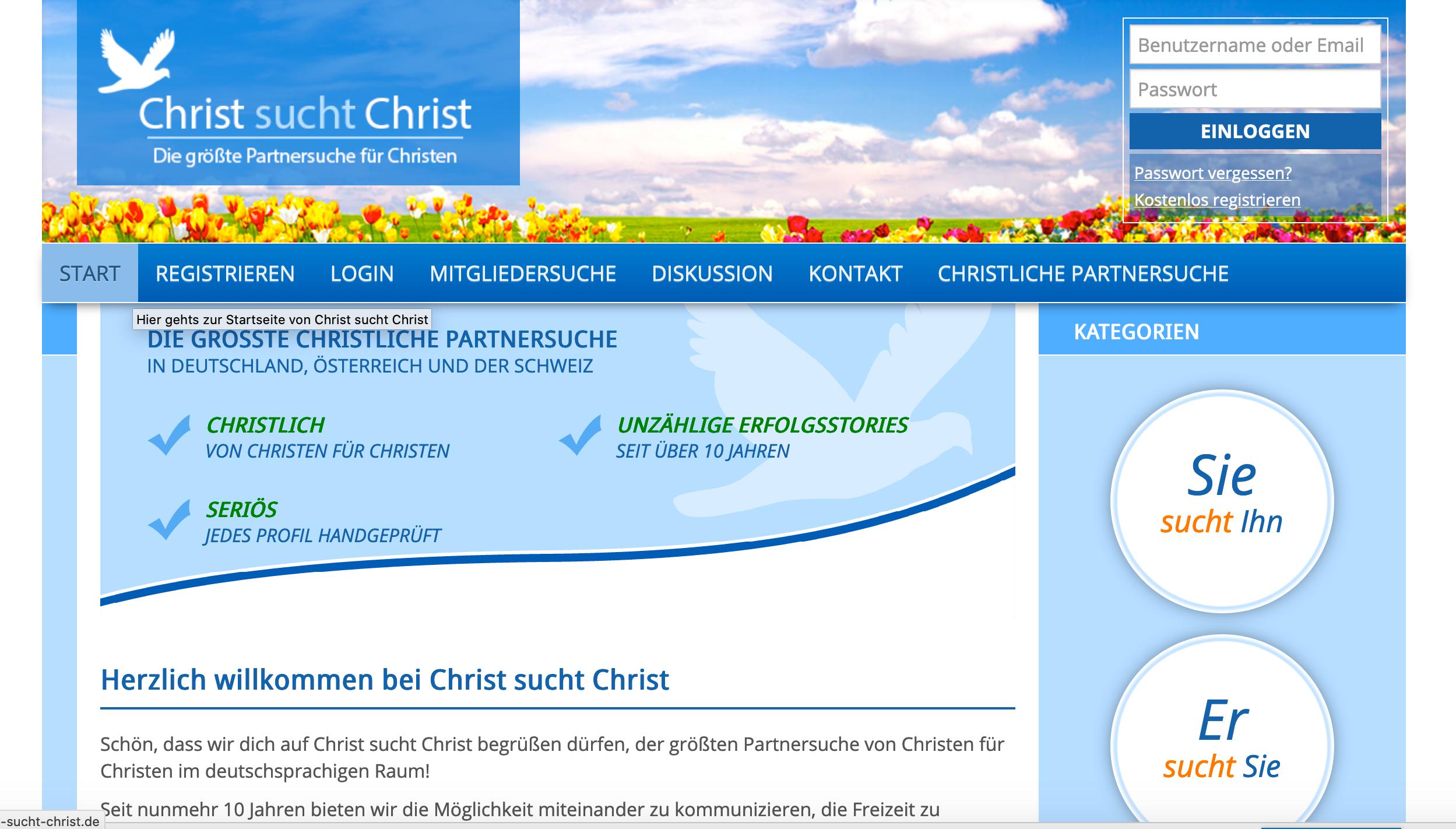 christliche partnersuche profil löschen